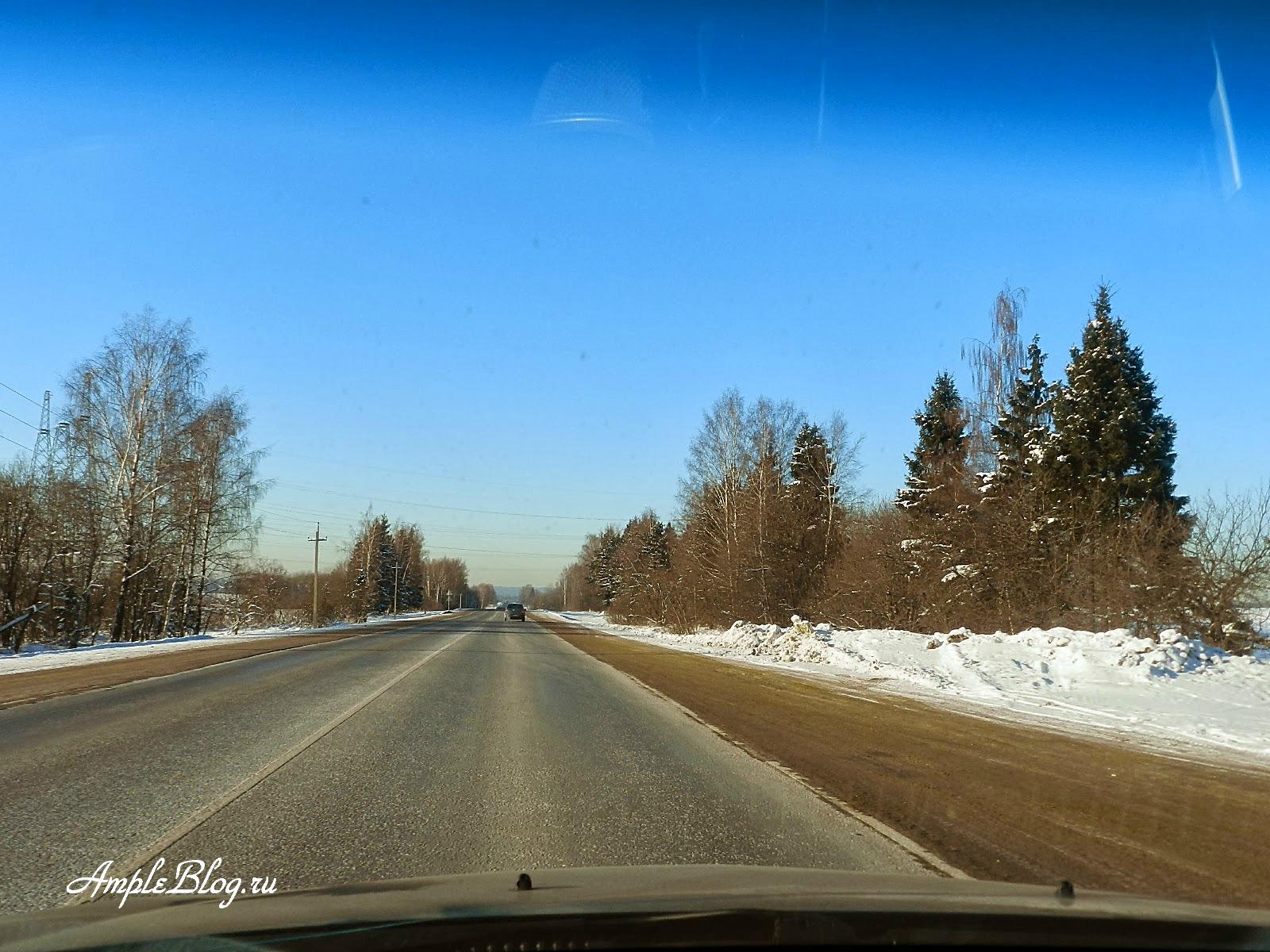 А108 зимой