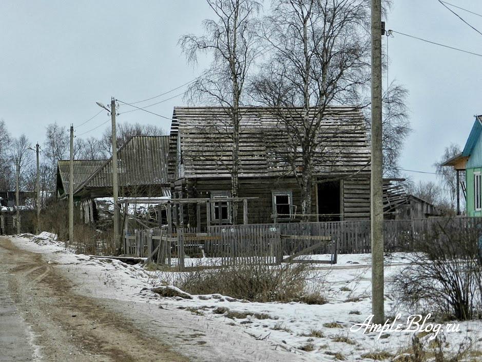 Из Москвы в Весьегонск - деревня 1