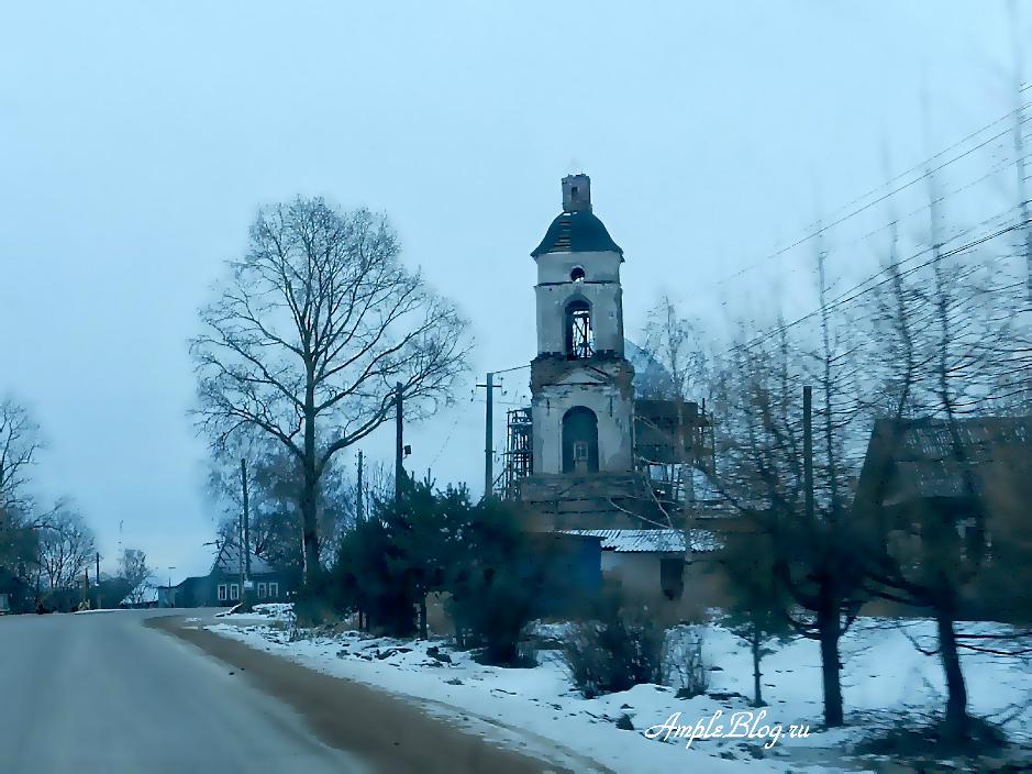 Храм на пути в Весьегонск 1