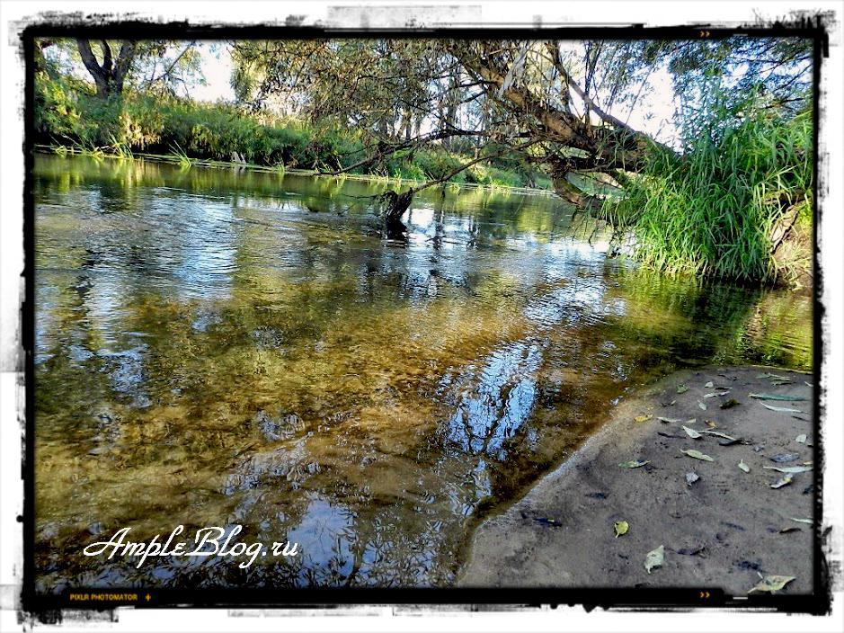 reka istra v sentyabre