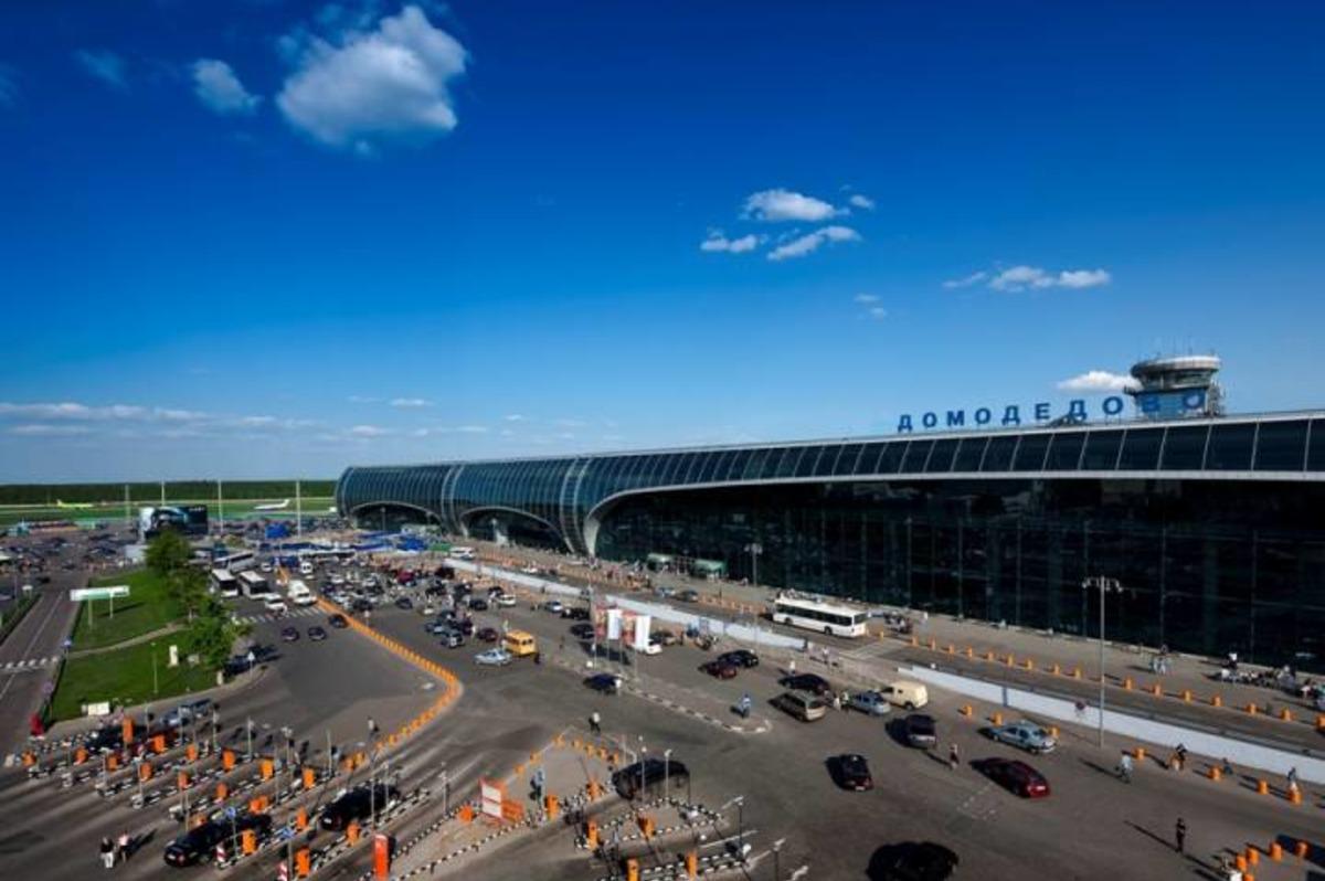 Территория парковки аэропорт Домодедово