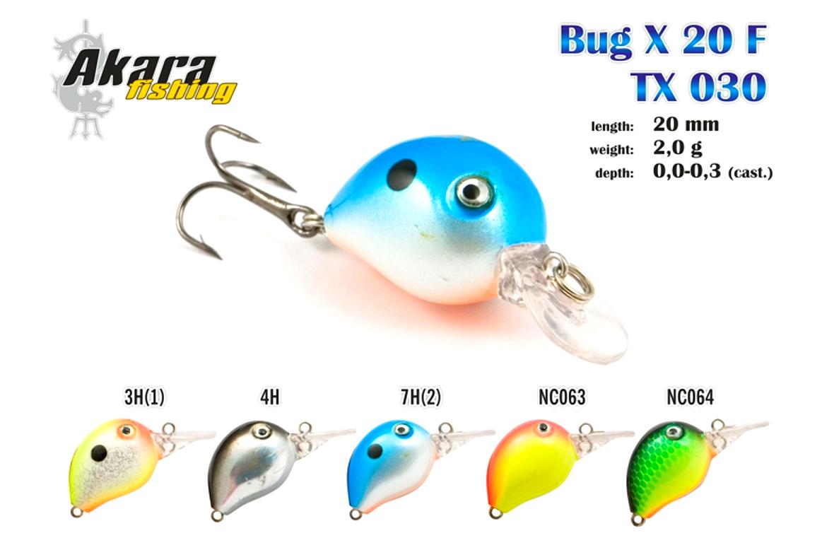 Воблер AKARA Bug X 20 F