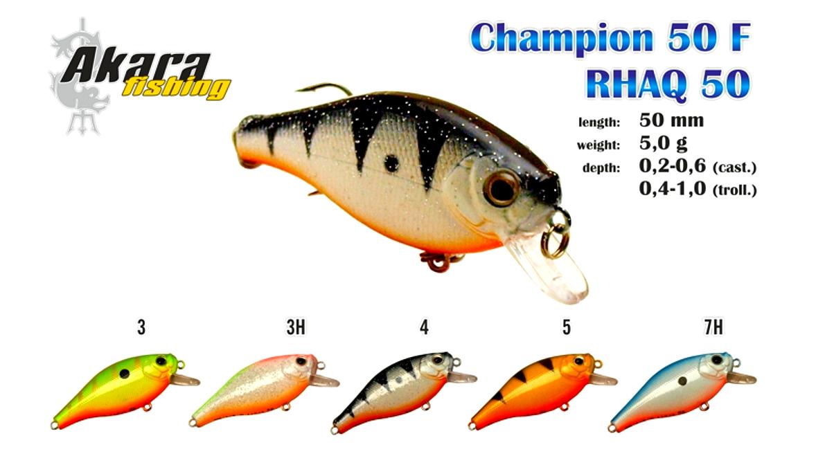 Воблер AKARA Champion 50 F