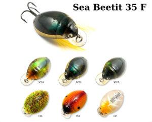 Воблер RAIDEN «Sea Beetit» 35 F (Жук)-вес 4 грамма размер-35 мм